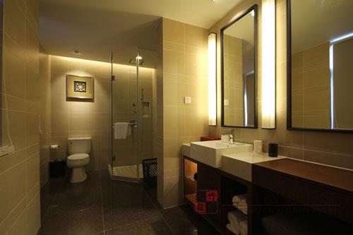 酒店卫生间装修设计经典案例图|上海品竹装饰
