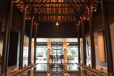 上海酒店装修:新中式酒店大堂设计案例