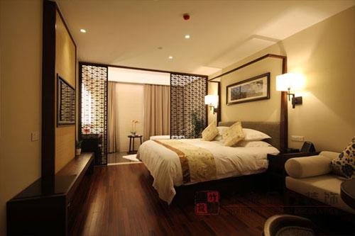 酒店装修设计之客房,套房面积参考