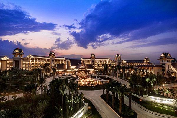 【度假酒店装修设计】云南西双版纳喜来登度假酒店